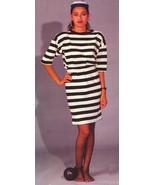 LADY CONVICT ADULT ONE PIECE COSTUME Size Std - $20.00