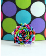 Duct tape ring - Multi-Colored Dots - $8.99