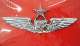 2nd DEGREE BADGE PIN ROYAL THAI AIR FORCE TRANSPORTATION METAL WING - $7.91
