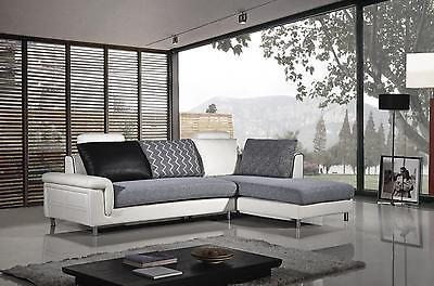 American Eagle AE-L343L Modern Leather Sofa Set With Left Hand Chase 2pcs