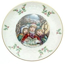 Royal Doulton hristmas 1981 plate Fifth of a Series Oh Yes a Merrie hris... - $30.98