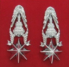 Police Major Royal Thai Police Rank Insignia Chevron Badges  - $22.77