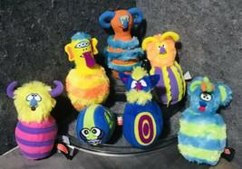 Melissa & Doug Wacky Monster Plush Bowling 6 Pin & Ball Game Toy Set & Carry Bag - $27.72