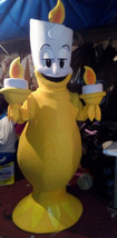 Lumiere Candle Mascot Costume Adult Character Costume For Sale - $299.00
