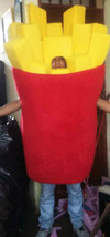 French Fries Mascot Costume Adult Character Costume - $299.00