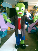 Plants vs Zombies / Zombie Mascot Costume Adult Character Costume - $275.00