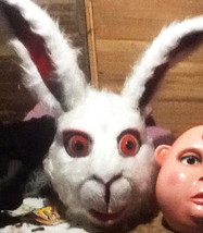 Rabbit Alice In Wonderland Costume Head For Sale - $190.00