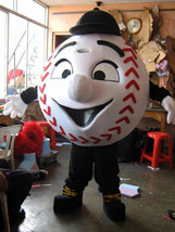 Beisball Mascot Costume Adult Character Costume - $299.00