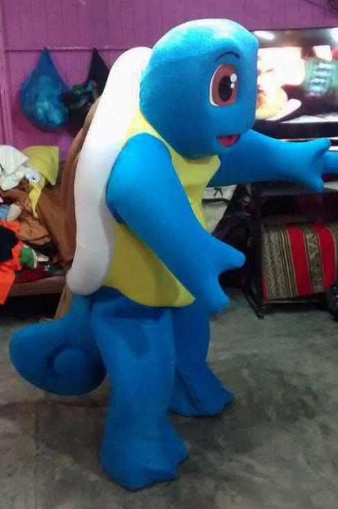 Pokemon Go Squirtle Mascot Costume Adult Costume For Sale