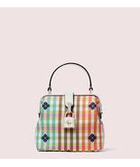 Kate Spade New York remedy bella plaid small top-handle bag - $198.00
