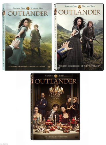 Outlander The Complete Seasons 1-2 1,2 DVDs Box Set 9 Disc Free Shipping