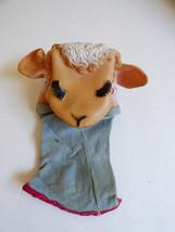 VTG 1960 Torcher prod. Shari Lewis Lamb Chop doll toy hand puppet vinyl ... - $23.76