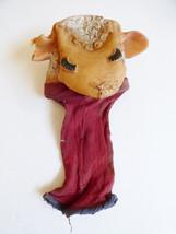 VTG 1960 Torcher prod. Shari Lewis Lamb Chop doll toy hand puppet vinyl ... - $16.63