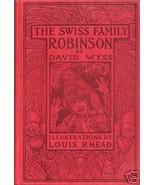 Swiss Family Robinson David Wyss Illus Louis Rhead 1909 - $145.00