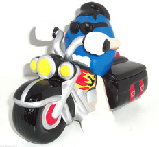 M&M's M&M Motorcycle Candy Dish Auto Blue Guy Bike Cycle  - $59.95