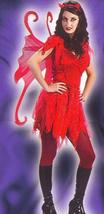 DEVILISH FAIRY ADULT COSTUME FITS 2-8 - $30.00
