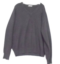 Kirkland Signature Size XL Brown  Cashmere V Neck Pullover Long Sleeve S... - $13.99
