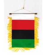 African American Window Hanging Flag - $3.30