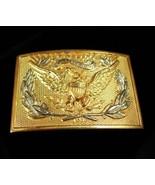 Eagle BUCKLE Patriotic vintage buckle gold mens buckle Political buckle ... - $65.00