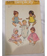 "Simplicity 12"" Baby Doll Pattern Number 5275 - $9.75"