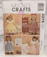 Mccall's Crafts Gotz Doll Clothes Number 3275 Pattern - $9.75
