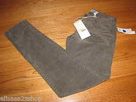 Roxy Juniors womens 00 Cord Leggings Pants Dusk NWT NEW 49.5 ^^ - $12.40