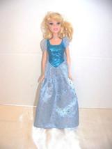 Disney Barbie Cinderella Doll 2005, Bendable Knees, and her Dress - $6.32