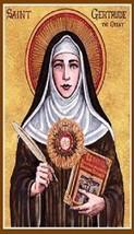 Saint Gertrude of Nivelles Patron of Cats Magnet #25 - $6.99