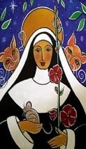 Saint Gertrude of Nivelles Patron of Cats Magnet #26 - $6.99