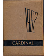 Collinsville, OK High School Yearbook, 1962 Cardinal - $27.23
