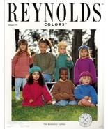 Reynolds Yarn Knitting Patterns Set of 2 - Kids Pullover & Hat - $8.50
