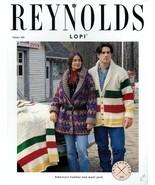 Reynolds Yarn Knitting Patterns Set of 8 - Reindeer Pullover, Fair Isle ... - $15.50
