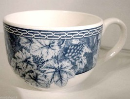 Wedgwood Vintage Blue Grapevine Tea Cup Made In UK New - $9.90