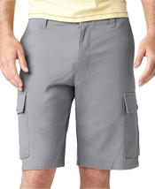 Dockers Men's Classic-fit Flat-front Cargo Short, Light Gray, 40 - $24.75