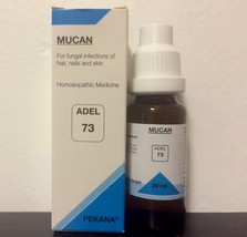 Adel Homeopathy Germany Drops 73 - For Fungal Infections Of Hair Nails A... - $8.59