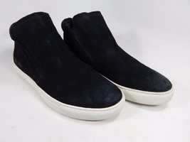 Kenneth Cole Kalvin Black Suede High Top Casual Comfort Sneaker Shoe US 6.5