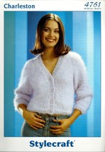 Set of 6 Stylecraft Knitting Patterns - Cardigan, Pullover, Hoodie, Jacket + - $12.50