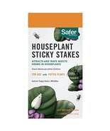Safer Brand SF5026 Houseplant Sticky Stakes Insect Traps, 1 Pack, One Color - $14.35