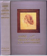 Anne of Green Gables by L M Montgomery Hardcover January 1936 LC Page Wi... - $850.00