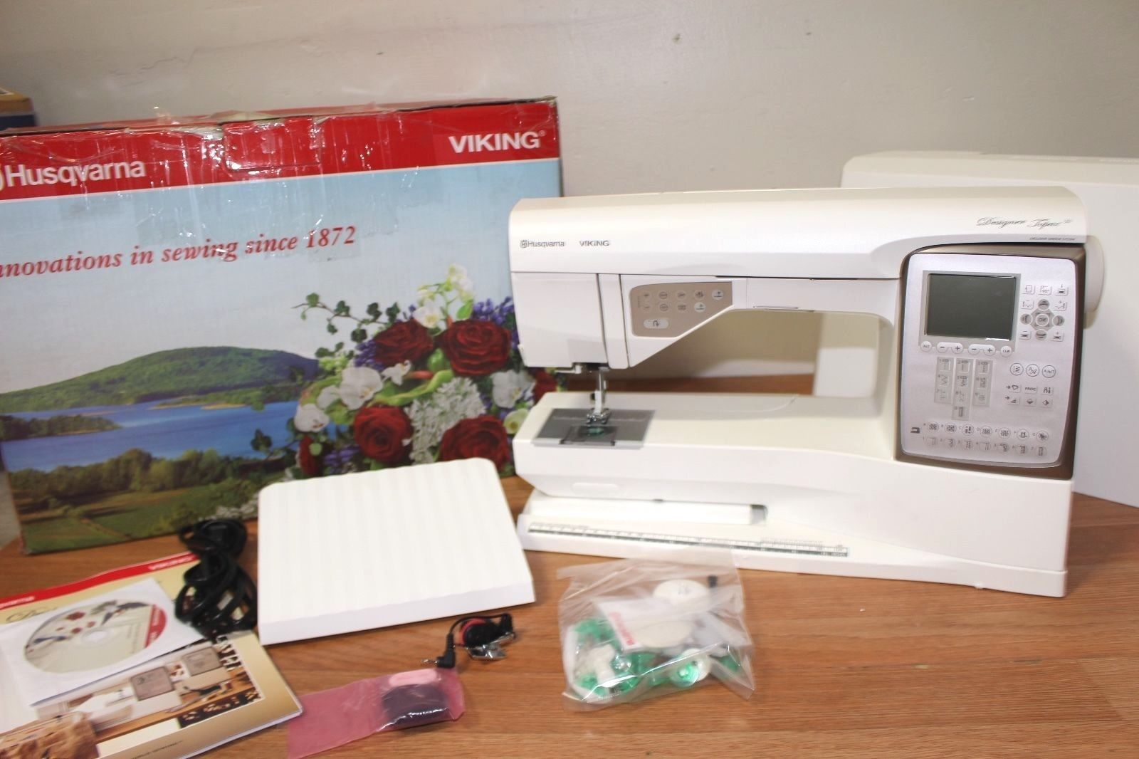 viking topaz 30 embroidery machine