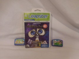 Leap Frog Leapster Learning 3 Game Cartridges Wall-E Pet Pals Ni Hao Kai... - $7.22