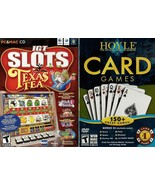 Hoyle Card Games, Texas Tea Slots, Casino Jackpot, 1000 Solitaire, Mahjo... - $45.00