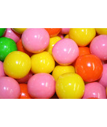 GUMBALLS BUBBLEBRIGHTS NEON BUBBLE GUM 25mm or 1 inch (114 count), 2LBS - $14.84