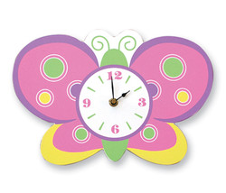 Trend Lab Wall Clock - Butterfly - $31.15