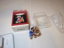 Beverly and Teddy Special Edition RARE Christmas Hallmark Keepsake Ornam... - $39.59