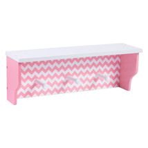 Trend Lab Pink Chevron Shelf - $39.14