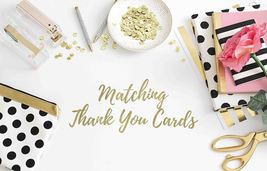 Matching Thank You Card With Envelope for any printed invitation - $0.80