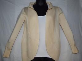 Wear Freedom Small Cardigan Sweater Beige Long Sleeve