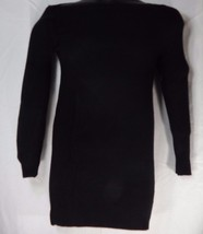 Wear Freedom Sweater Dress Long Sleeve Size: Small (S) Color: Black