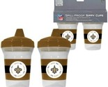 New Orleans Saints Sippy Cup 2 Pack